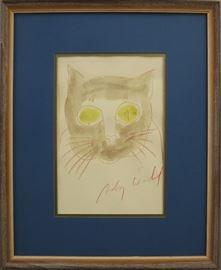 Andy Warhol drawing
