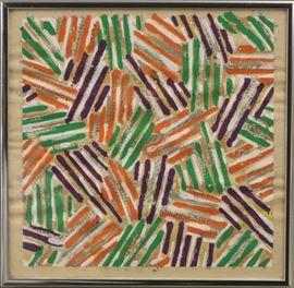 Jasper Johns, untitled 1977
