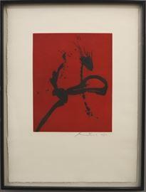 "Robert Motherwell ""Gesture IV"""