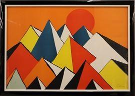 "Alexander Calder ""Homage to the Sun"""