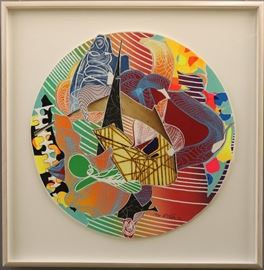 "Frank Stella ""Plutusia"" '96"