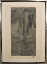 "Jasper Johns ""Fools House"""