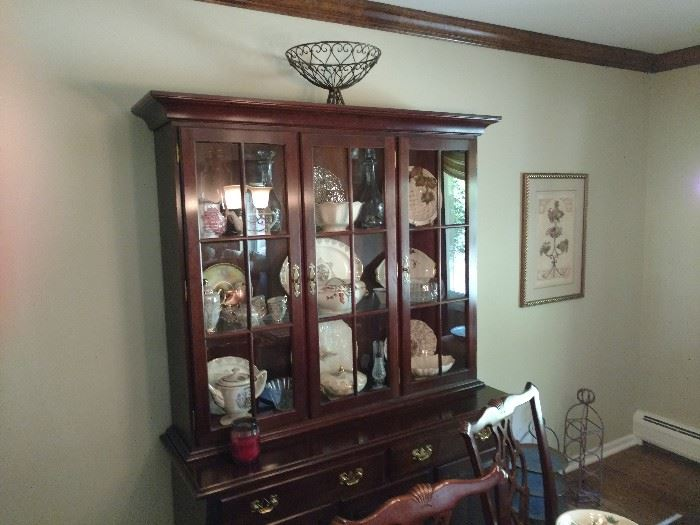 Dining room set   Also china for sale