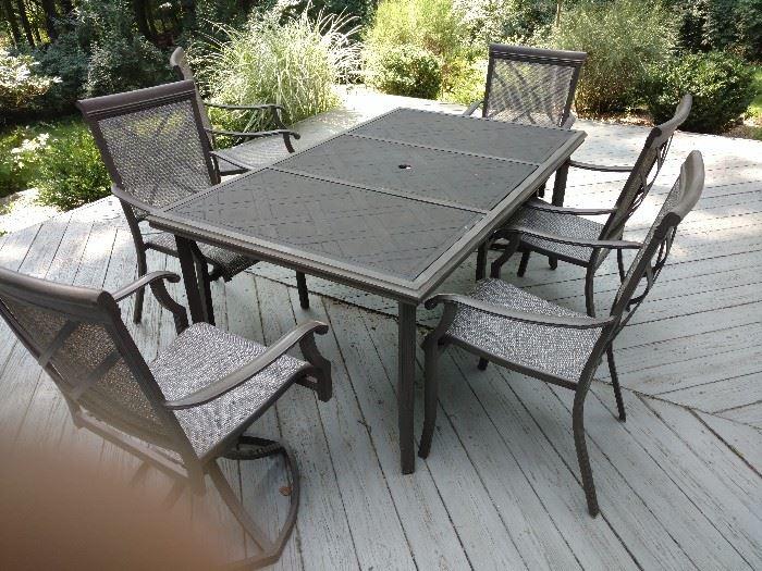 Nice outdoor patio set