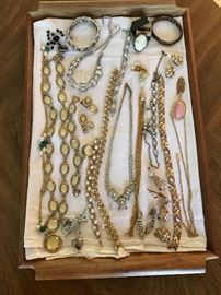 Vintage jewelry, lots more besides this
