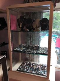 ALL STERLING JEWELRY (SORRY ABOUT THE LIGHTING)