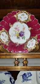 antique Meissen PLATE