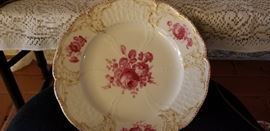 antique KPM Meissen plate
