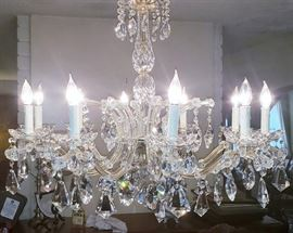 Great German Crystal Chandilier