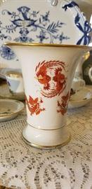 Meissen Ming Dragon Vase