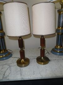 More MCM wooden lamps