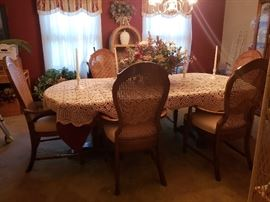 Formal Dining Room with 6 chairs and china cabinet very reasonably priced