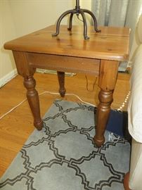 PINE END TABLE POTTERY BARN