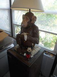 Cool Monkey lamp