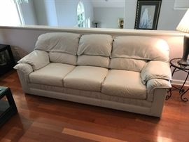 Broyhill leather couches