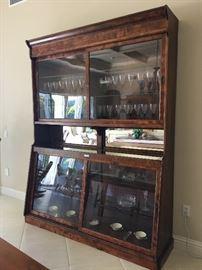 Knight Soda Fountain Company of Chicago - Soda Fountain Back Bar (companion to Apothecary Cabinet)