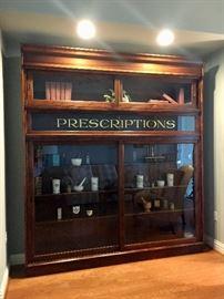 Knight Soda Fountain Company of Chicago Apothecary Cabinet