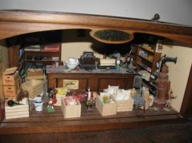 miniature grocery store