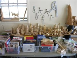 More Roughouts And Blanks, Woodworking and Carving Books And Magazines, Cone Gouge Slip Stone
