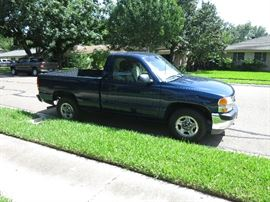 2002 GMC Sierra, 25,000 miles                                            Vortec 4300 V6 SFI Engine                                                   Automatic Transmission With Overdrive                                         Well Kept
