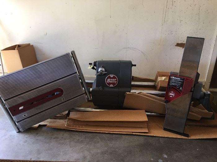 """Brand New 5 In One Tool, Mark V Shop Smith 510 Multipurpose Tool With additional 4"""" Jointer And Accessories!"""