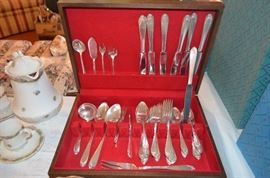 Rogers Bros 1847 silverplate flatware