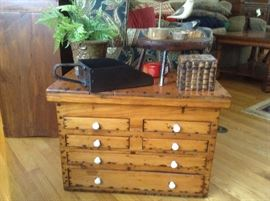 Beautiful Antique Pine Chest