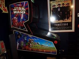 Williams-  Star Wars Episode 1  pin ball machine- buy it now: $6,500.