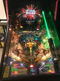 Williams-  Star Wars Episode 1  pin ball machine-buy it now: $6,500.