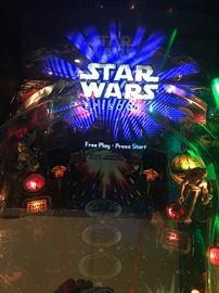 Williams-  Star Wars Episode 1  pin ball machine buy it now: $6,500.