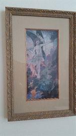 vintage Fairy print