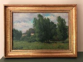 FM Watts Oil Painting