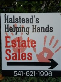 Welcome to Halstead's Helping Hands Estate Sales