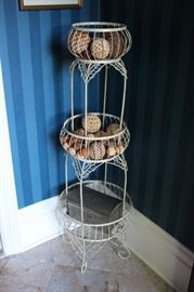 3 Tiered Standing Basket