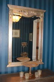 Decorative Mirror and Decorative Pieces