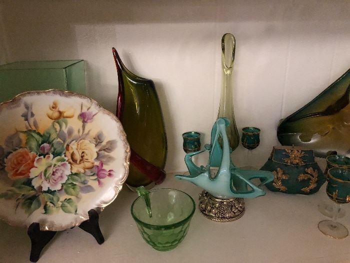 More Vintage art glass
