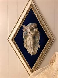 Italian framed relief