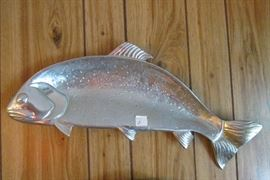 silver fish plate
