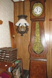 French morbiere clock