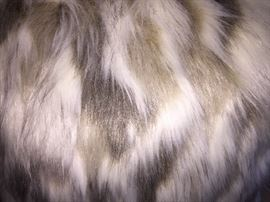 """6 FAUX FUR PILLOWS: Buy two, four or six: 18"""" x 18"""""""