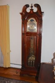 Howard Miller Grandfather Clock - actually there are 2 and one is all crated up and ready to go!