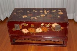 Stenciled Trunk
