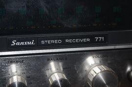 SANSUI 771 RECEIVER