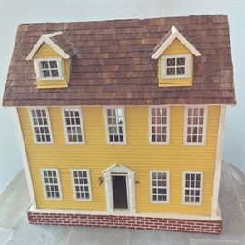 """Doll House. 1/2"""" Scale."""
