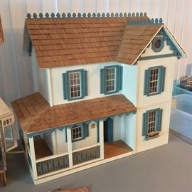 """Doll House. 1"""" Scale."""