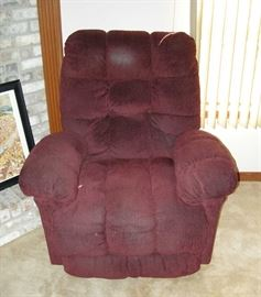 One of two Lazy Boy recliners