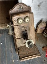 Original Oak Telephone