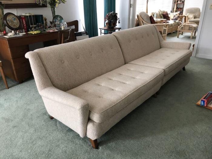 Heywood Wakefield sofa on EBAY Item ID: 192612496214