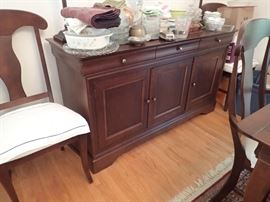 BUFFET WITH LOTS OF STORAGE