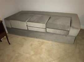 Origami futon. Can be set up as a twin bed shown here. Laid out as a king bed. And made into a couch as shown in next picture. $200